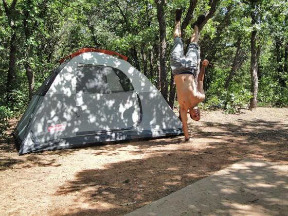 energia-en-la-mañana-de-camping